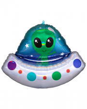 Alien Raumschiff Folienballon Supershape