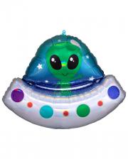 Alien Spaceship Foil Balloon Supershape
