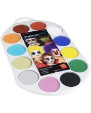 Aqua Make-up FX Colour Palette
