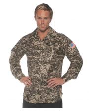 Army Kostüm Shirt