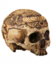 Ashtamangala Skull