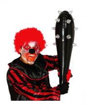 Aufblasbare Halloween Keule mit Dornen 80cm