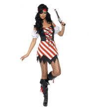 Aufreizende Piratin Kostüm