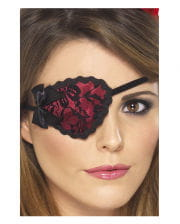 Sexy eyepatch with lace