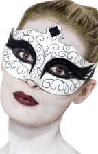 Augenmaske Gothic Swan