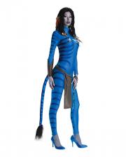 Avatar Neytiri Jumpsuit Costume For Ladies