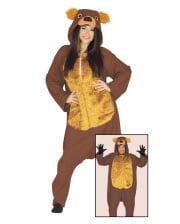 Bären Kostüm Jumpsuit