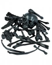 Bag Of Bones Bone Set Black 28 Pcs.