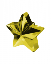 Balloon Weight Star Gold 150g