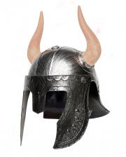 Barbarischer Krieger Helm mit Hörner