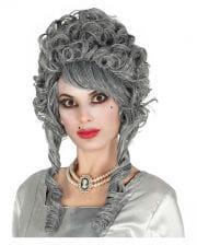 Baroque Ghost Bride Wig Gray