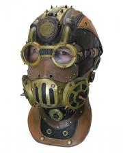Baron Steampunk Full Head Mask