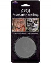 Halloween Basis Make-up grau