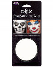 Halloween base makeup-white