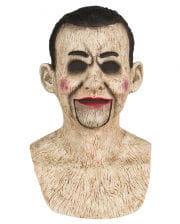 Bauchredner Puppe Silikon Maske