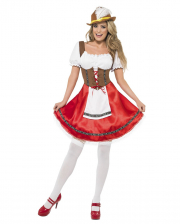 Bavarian Maid Dirndl Costume