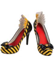 Bienen Schuhe mit Schleife