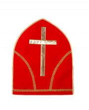 Bischofsmütze rot