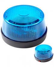 Blue Warning Light With Siren