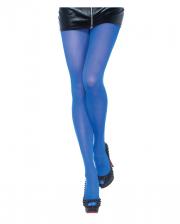 Blickdichte Nylon Strumpfhose Royal Blau