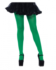 Blickdichte Nylon Strumpfhose Grün