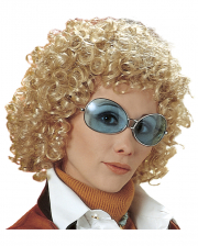 70s Curly Wig Beatrice - Blonde