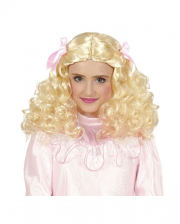 Blonde Prinzessin Kinderperücke
