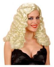 Blonde Engelsperücke