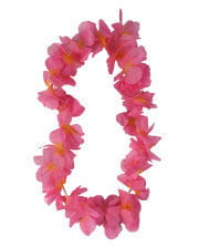Blumenkette pink-orange