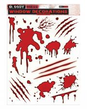Bloody Window Stickers