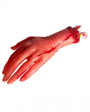 Bloody Hand with bone stump