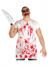 Blutige Schürze als Kostümzubehör
