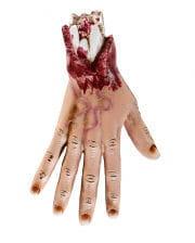 Blutige Zombie Hand