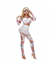 Bungled Beauty Surgery Patient Costume 2-piece