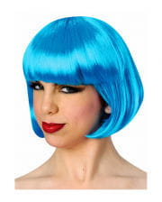 Bob wig neon blue