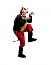 Big Bad Wolf Jumpsuit Costume