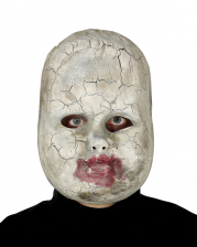 Broken Babydoll Half Mask For Adults
