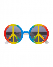Love & Peace Hippie Glasses