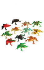 Colorful party Frogs