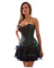 Burleska Lolita Miniskirt dark green