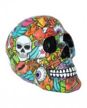 Calypso Pop Art Totenschädel