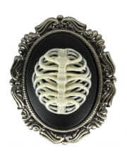 Cameo brooch skeleton