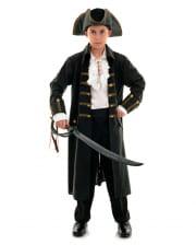 Captain Black Piraten Kinderkostüm