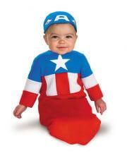 Captain America baby costume