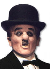 Charlie Chaplin Maske
