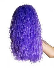 Cheerleader Pompom violett