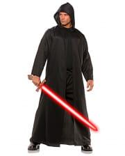 Schwarzer Kostüm Mantel mit Kapuze