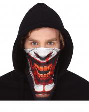 Creepy Clown Face Cloth