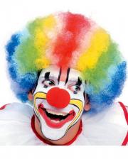 Clown Wig Multicolor