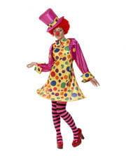 Clown Dame Kostüm XL